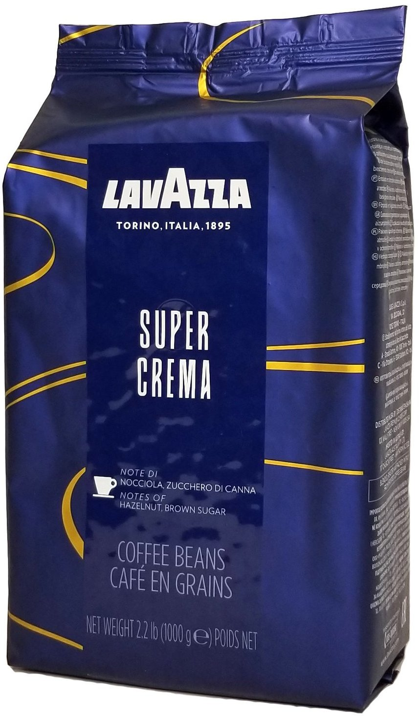 "<span style=""font-weight: bold;"">LAVAZZA SUPER CREMA&nbsp;</span>"